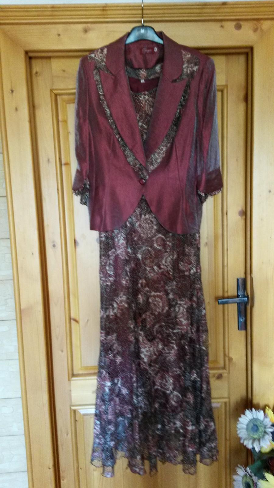 Šaty so sakom s 3 4 rukávom ebd3686b3eb
