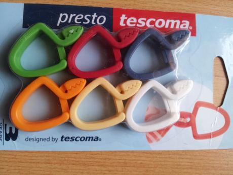 Sada drziakov na utierky Tescoma,