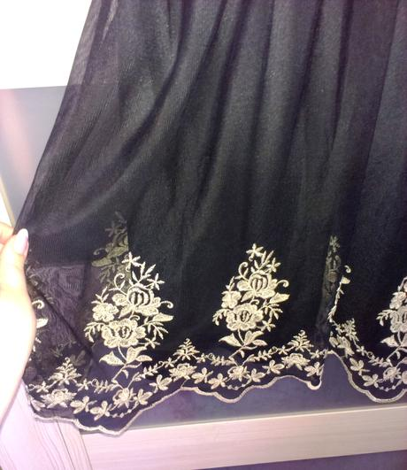 šaty s výšivkou č.14  (42, L), L