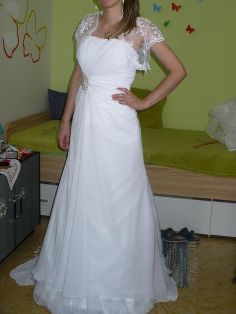 Svadobné šaty zo šifónu, 32