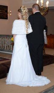 Svadobné šaty zo šifónu, 34