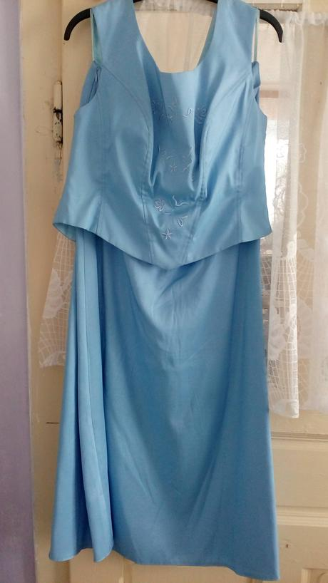 Spoločenský komplet - šaty, 44