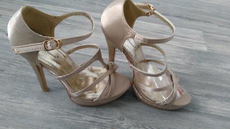 Neobute svadobne sandalky, 36