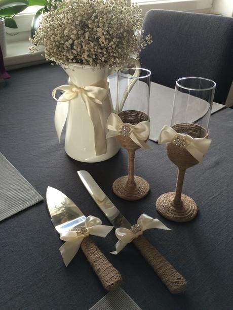 Skleničky pro novomanžele,