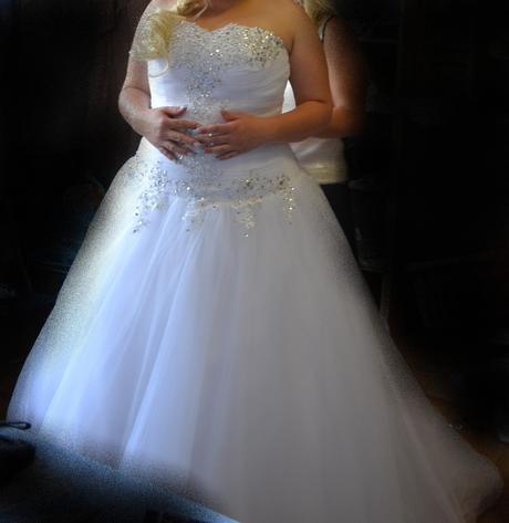 Princeznovské šaty, velikost 44, 44