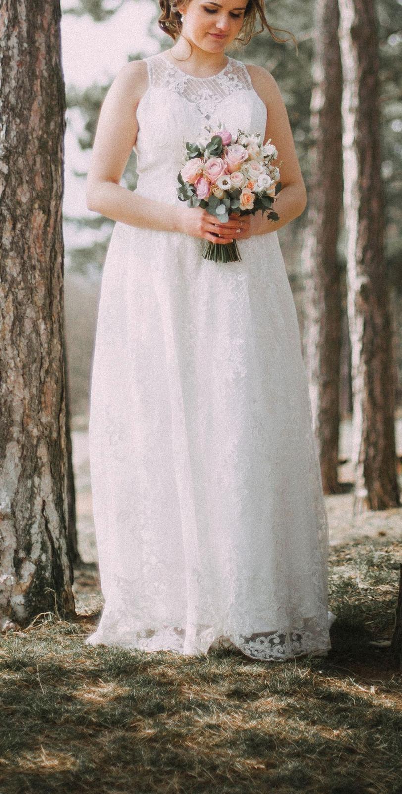 2ef01dab0fc Svatební šaty chi chi london + svatební doplňky