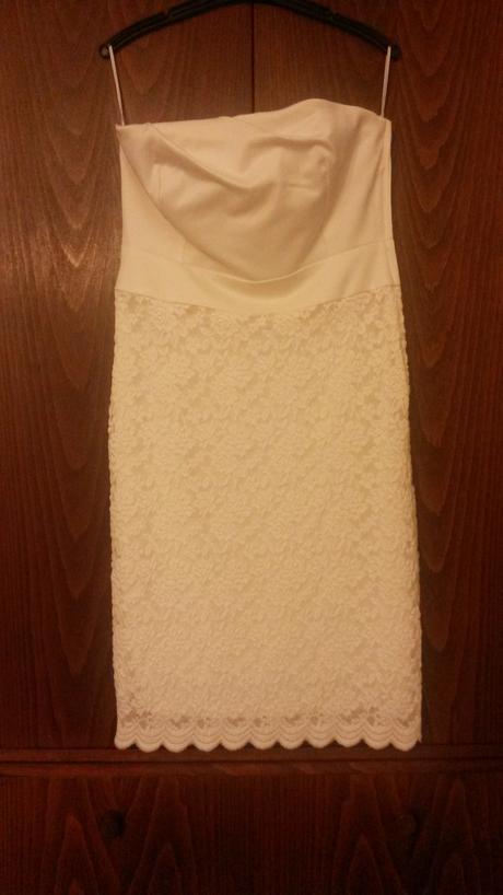Smetanové šaty Orsay, 38