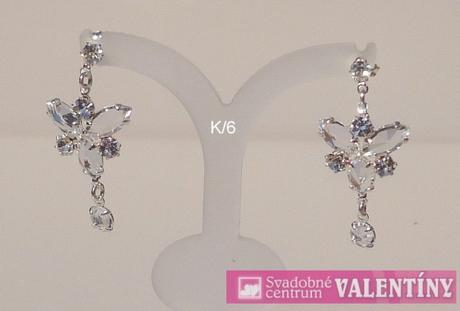 Luxusný krištáľový náhrdeľník,
