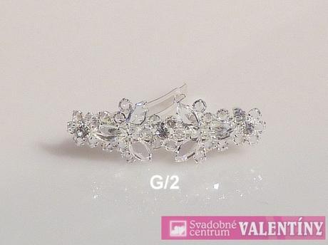 Luxusný náhrdelník krištáľový ,