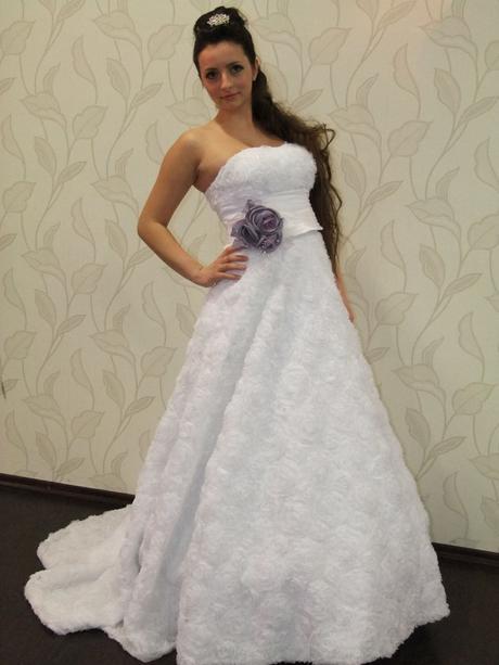 svadobné šaty kvetové, 38