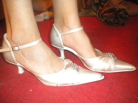 svatební boty do spičky, 37