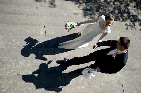 Krajkové svatební šaty vel. 36/38, 36