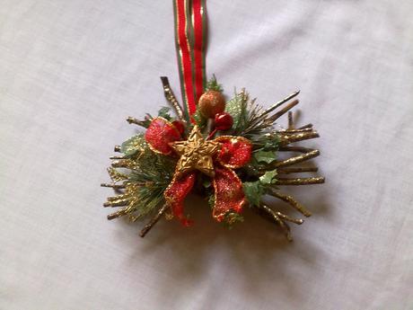 Vianocne dekoracie na dvere,