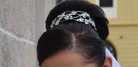 Svadobna celenka do vlasov - Jablonec,