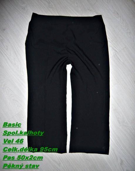 Společenské kalhoty, 46