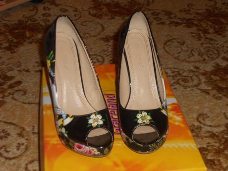 čierne topánky , 36