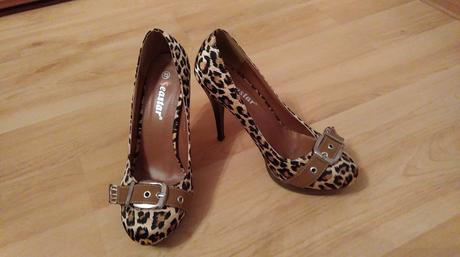 tigrované topánky, 37