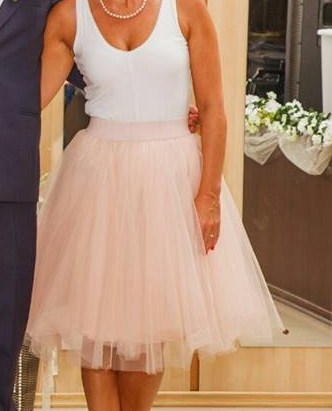 tutu sukňa béžová, 38