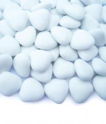 Čokoládová srdíčka bílá 200 ks,