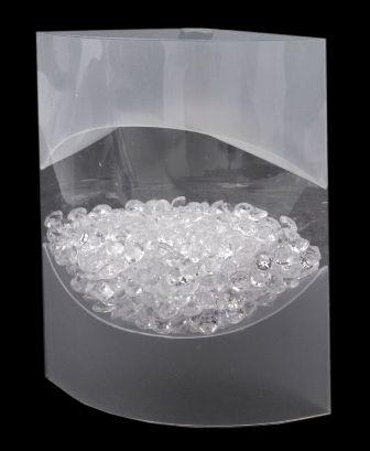 Kamínky na stůl - crystal,
