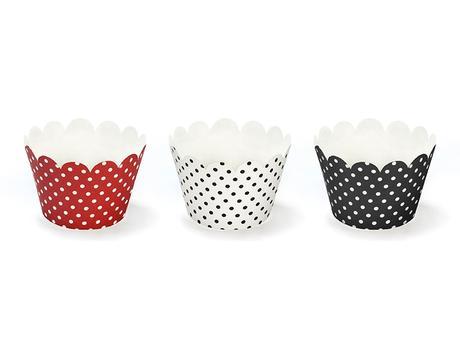 Papírové kroužky na muffiny (mix 6ks),