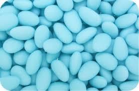 Svatební mandle - modré ,