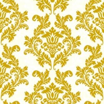 Ubrousky dekorativní - slonová kost/zlatý ornament,