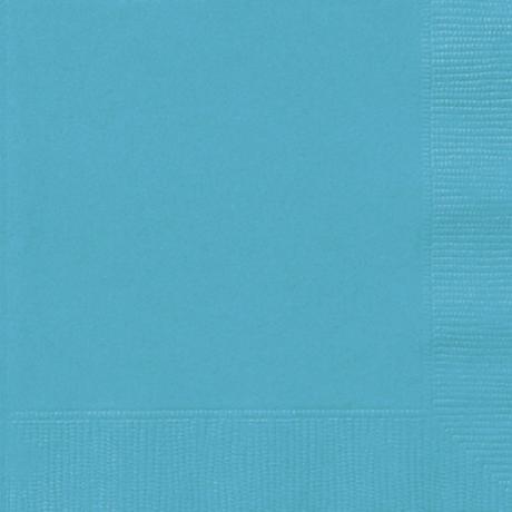 Ubrousky papírové - azurové,
