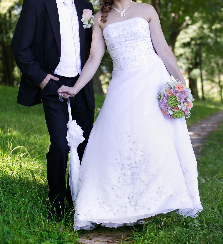 svadobné šaty veľkosť 38-42 1bacd92ca0e