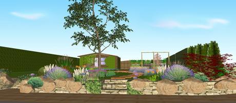 Projekt rodinnej záhrady,