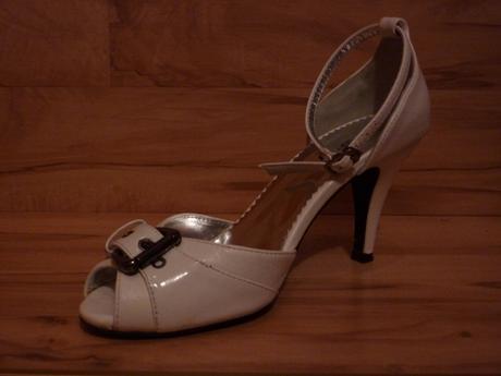 Biele sandalky, 36