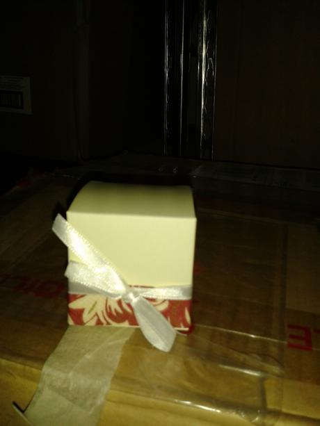 Darčeková krabička 5x5cm,