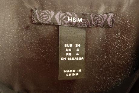 Čierne elegantné šaty,H&M, 34