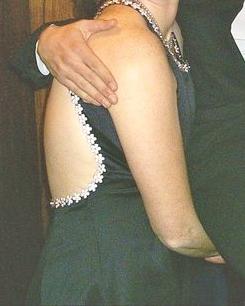 Luxusní večerní šaty z Ameriky, 42