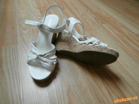 Svatební obuv vel. 38, 38