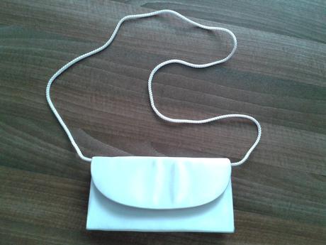 Slávnostná saténová kabelka,