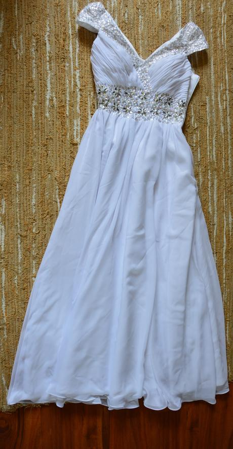 šaty s kamienkovým pásom a ozdobenými ramienkami, 34