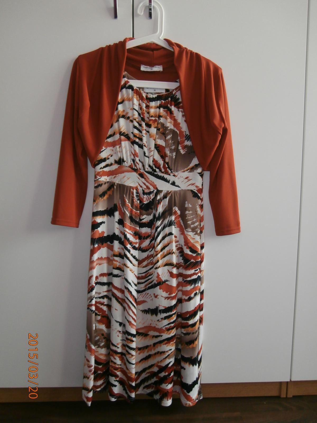 Šaty s bolerkom chantall 39a3e20730