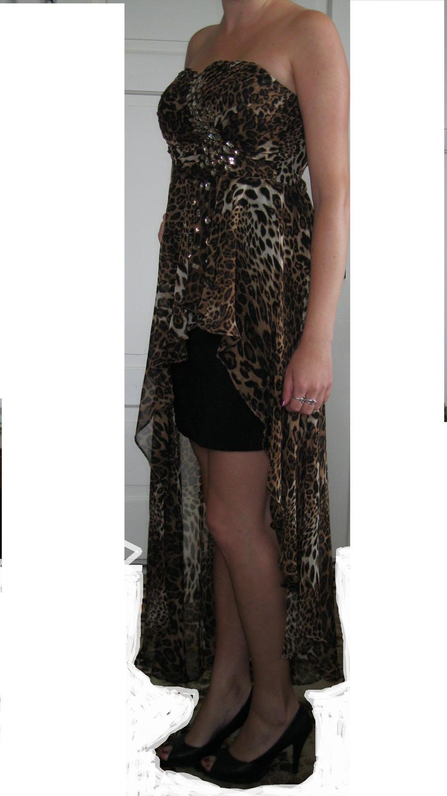 1f235ee134f8 Tigrované šaty