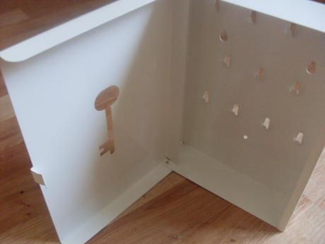 Schránka na kľúče Ikea,