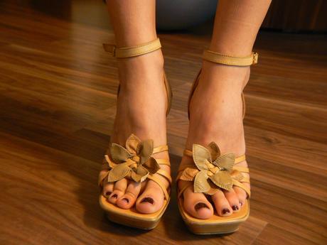 Letní boty na platformě, 39