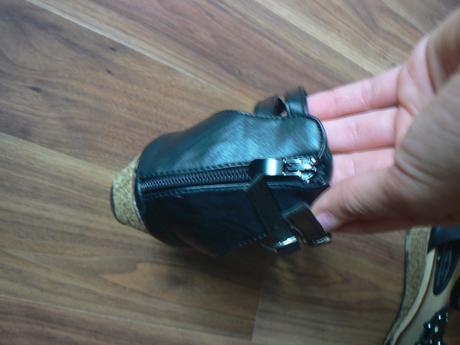 páskové boty na klínu, 39