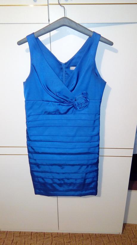 krátke modré šaty , 44