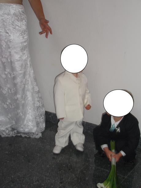 dětský oblek se sakem a vestou 86/92, 86