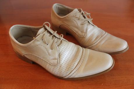 svatební boty šampaň/béžová, 42