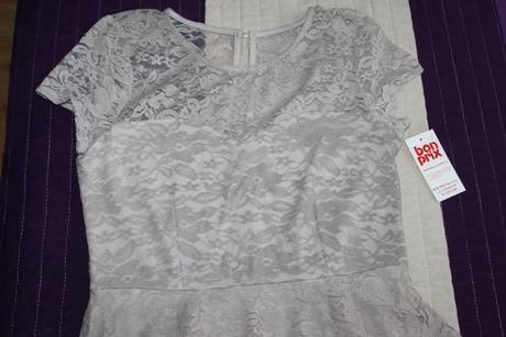 čipkovane šaty z Bonprixu, S