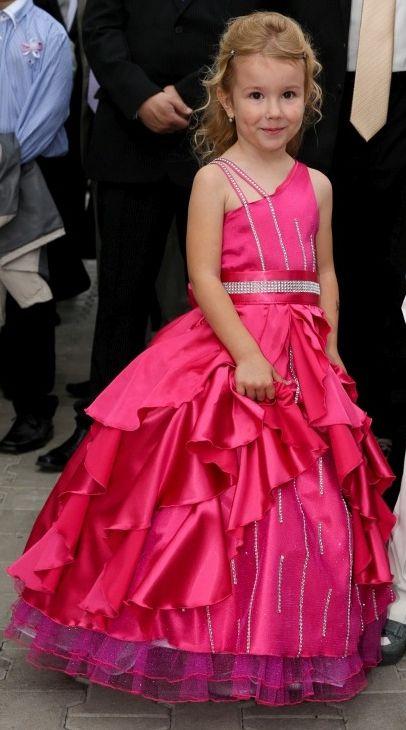 detské spoločenské šaty veľkosť 116, 17