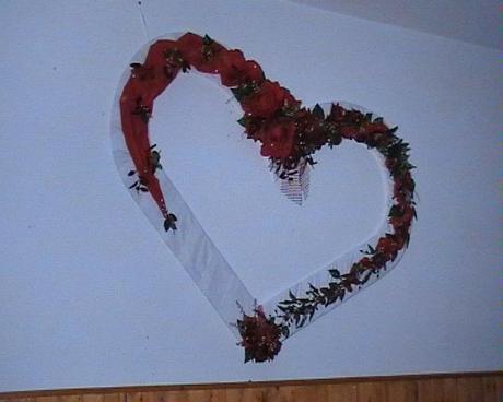 Srdce na stenu,