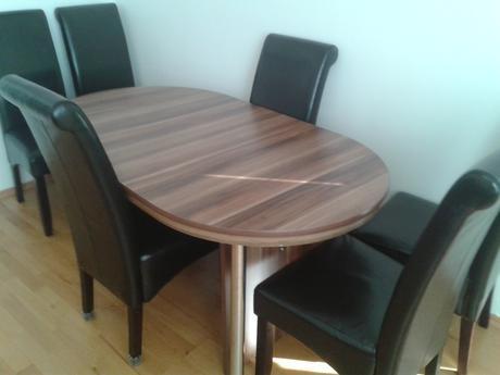 Rozkladací jedálenský stôl 160-280cm/92cm,