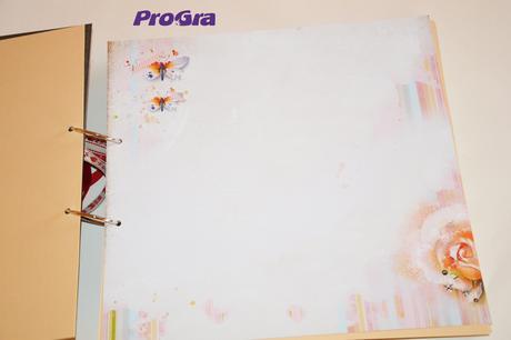 Dřevěný svatební album - Věneček - 21 x 21 cm,